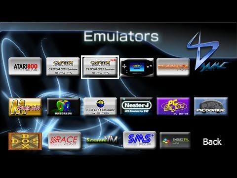 Neo geo emulator for psp