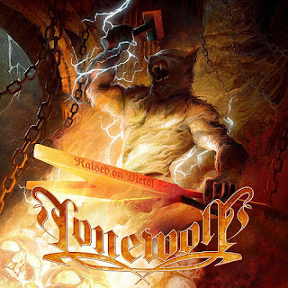 """Lonewolf - """"Through Fire, Ice And Blood"""" (lyric video) from the album """"Raised On Metal"""""""