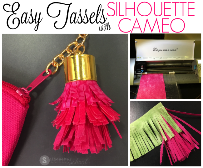 How To Make Fabric Tassels With Silhouette Cameo Free