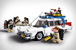 Ghostbusters original Ecto 1 Lego car toy
