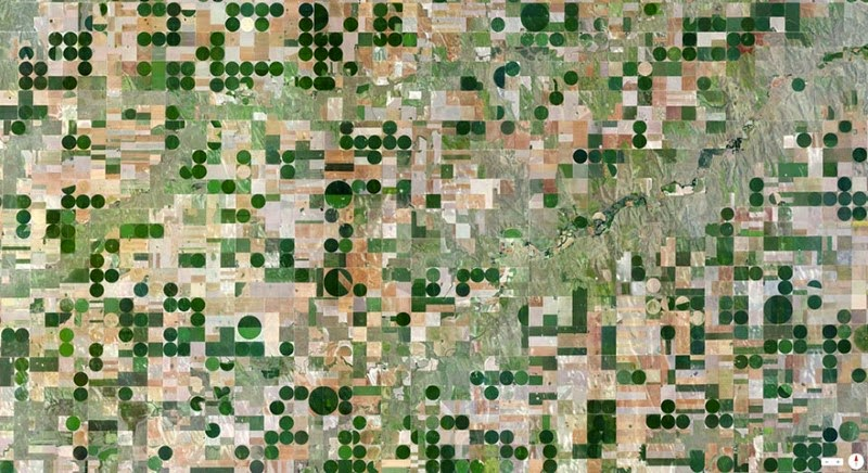 16. Edson, Kansas, USA - 17 Breathtaking Satellite Photos That Will Change How You See Our World