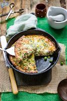 Omlet z groszkiem