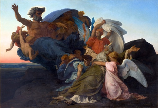 Alexandre Cabanel: Death of Moses (1850)