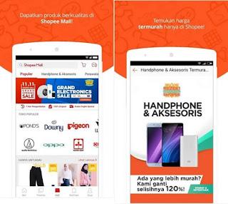 Aplikasi terbaik dan terpopuler di indonesia shope
