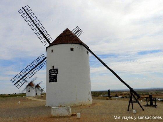 Ruta de los Molinos de viento, Mota del Cuervo, Castilla la Mancha, Cuenca