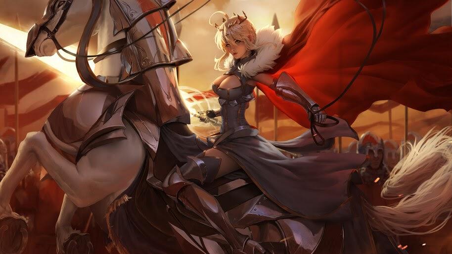 Saber, Fate/Grand Order, Artoria Pendragon, 4K, #6.2289