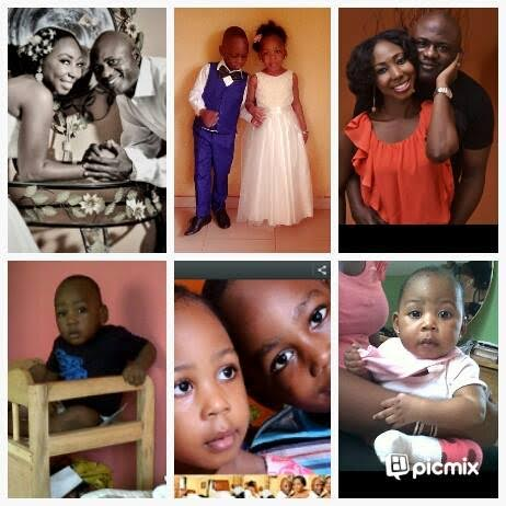 Ronke Bewaji Shonde and family