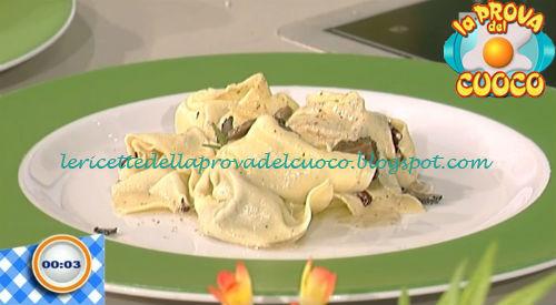 Tortelli al roquefort con tartufo ricetta Marsetti da Prova del Cuoco