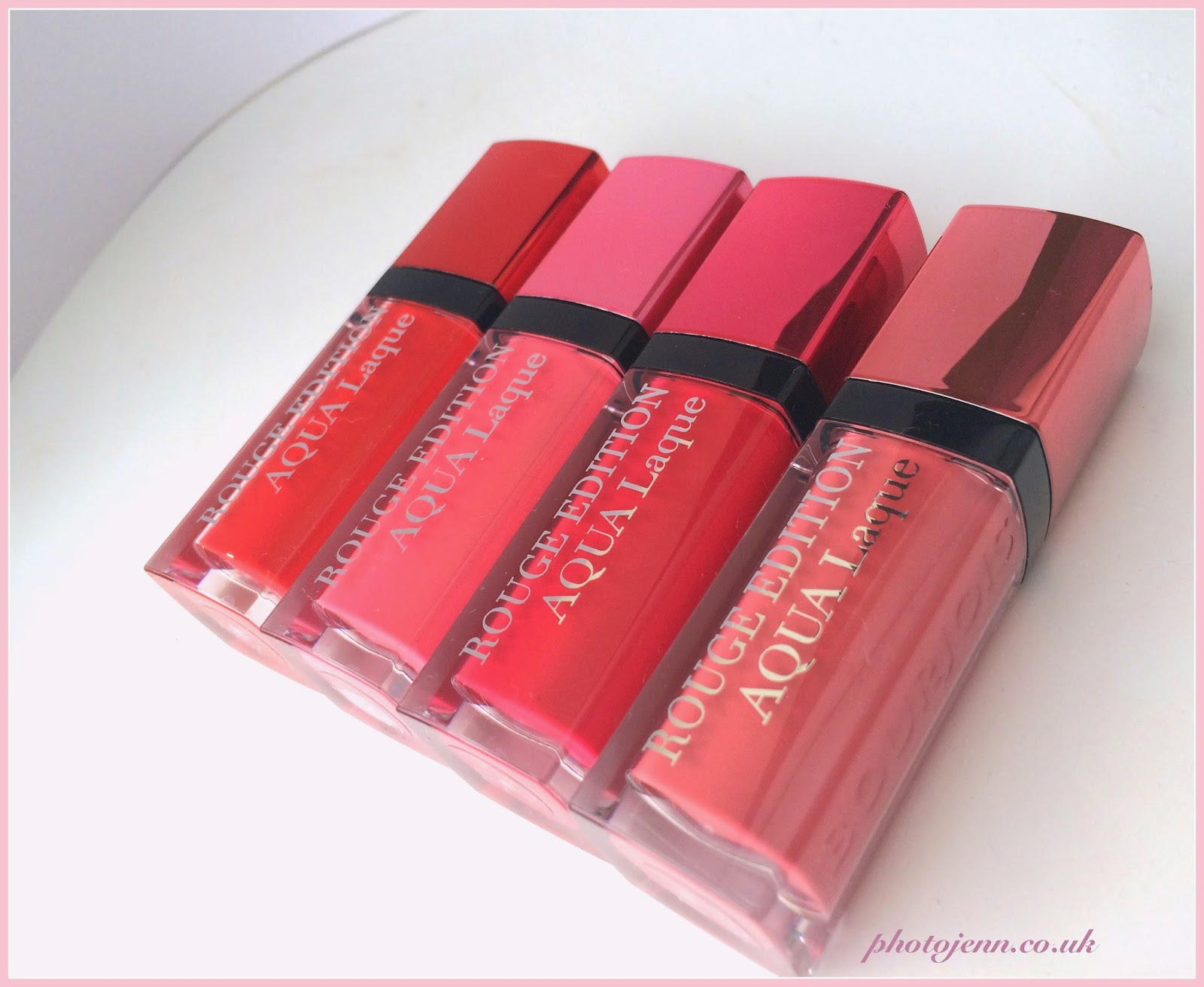 bourjois-new-aqua-laque-rouge-edition-shades-Babe-Idole-Appechissant-Fuchsia-perche-Feeling-Reddy