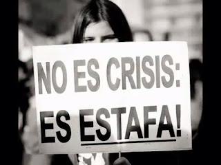 No es crisis es estafa