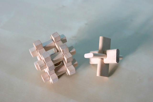 Morgan's Milieu | How Do You Train Your Brain?: Wooden puzzles.