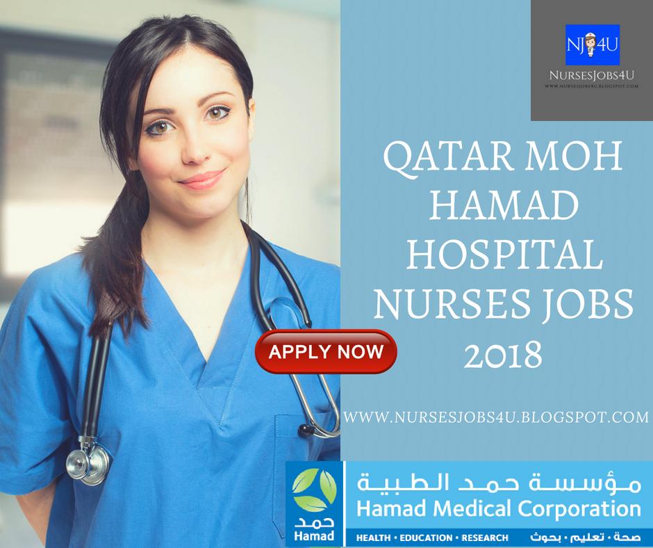 nursesjobs4u: QATAR MOH HAMAD HOSPITAL NURSES JOBS 2018