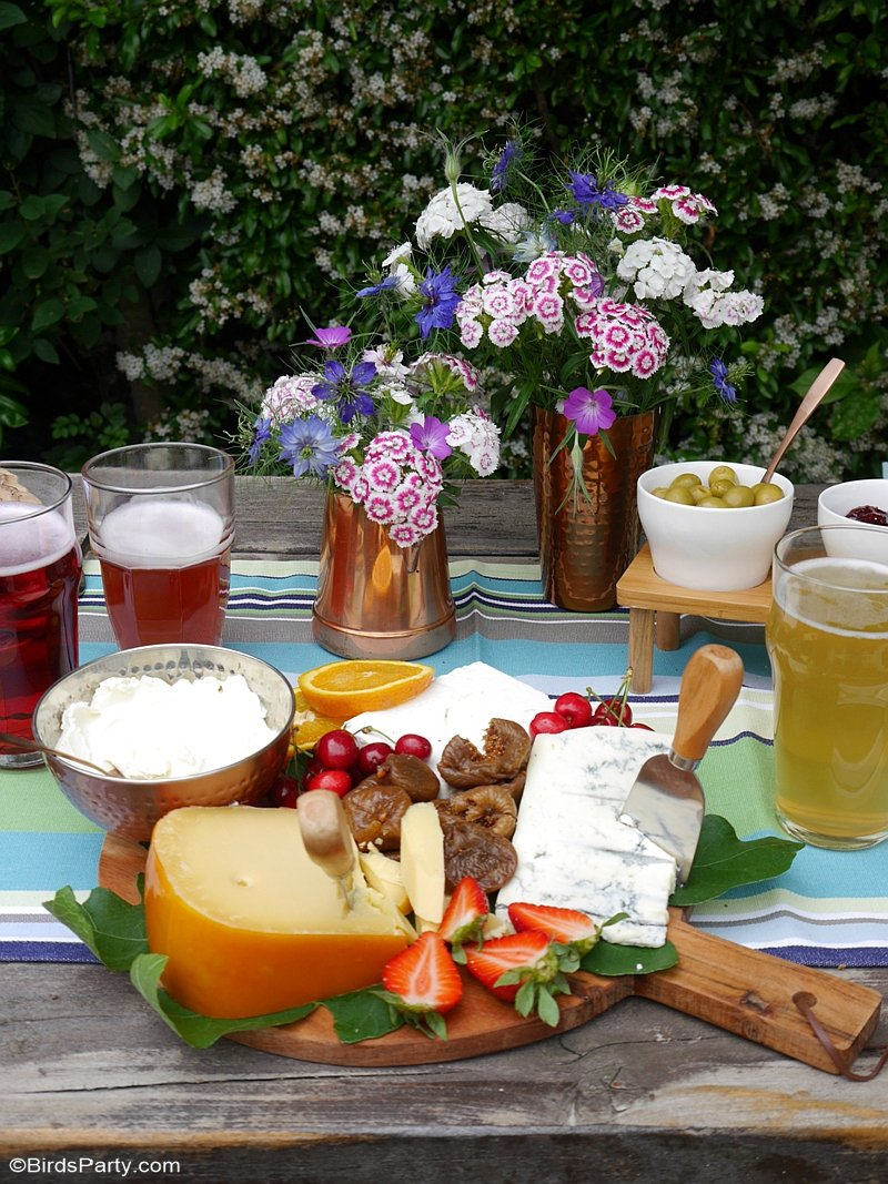 A Cheese and Beer Tasting Party