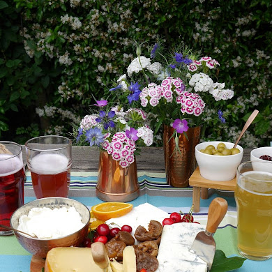 A Summer Cheese and Beer Tasting Party