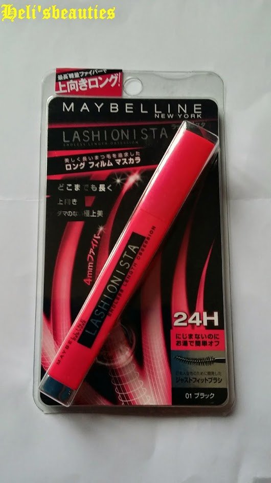 Maybelline Lashionista Endless Length Obsession Mascara Review