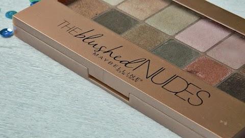 Recenzija: Maybelline The Blushed Nudes paleta