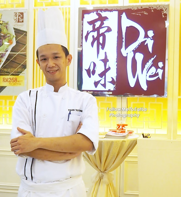 Executive Chinese Chef Thian Taik Yong Di Wei Chinese Cuisine Restaurant