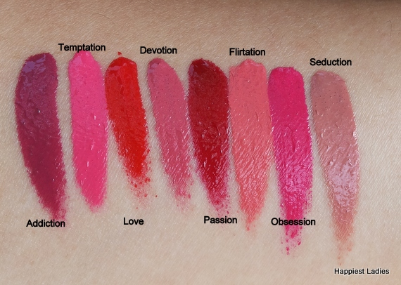 Revlon Ultra HD Matte Swatches