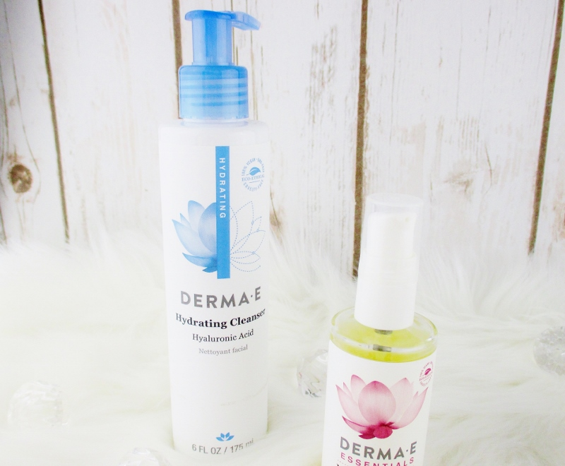 My Favorite Drugstore Winter Complexion Care for Dry and Mature Skin from Derma-E Hydrating Cleanser