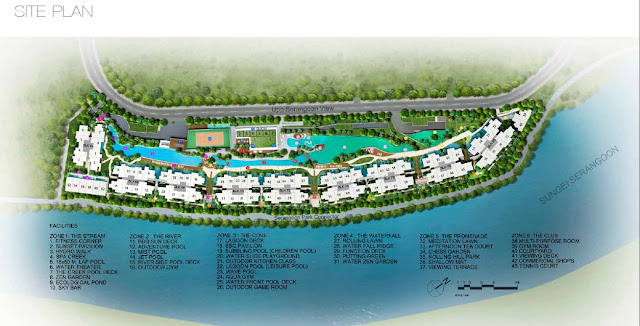 Kingsford Waterbay Site Plan