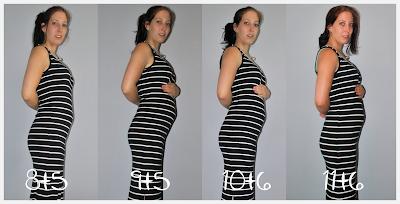 11 weken en 6 dagen zwanger buikfoto