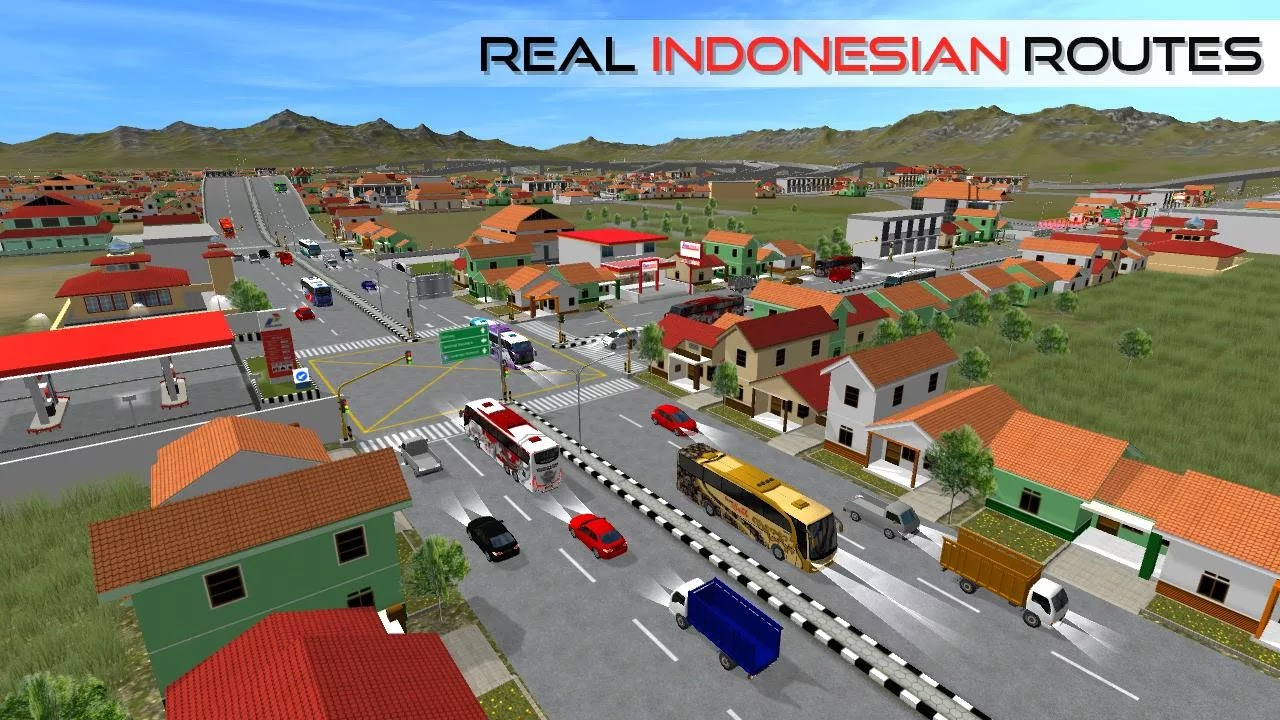 Download Bus Simulator Indonesia android apk games