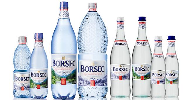 Gama de produse Borsec in prezent