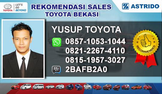 Rekomendasi Sales Toyota Cikarang Bekasi