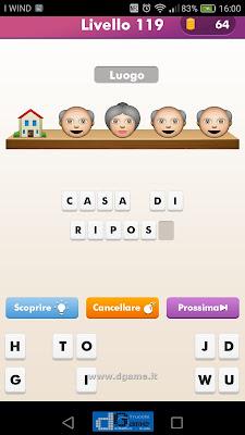 Emoji Quiz soluzione livello 119