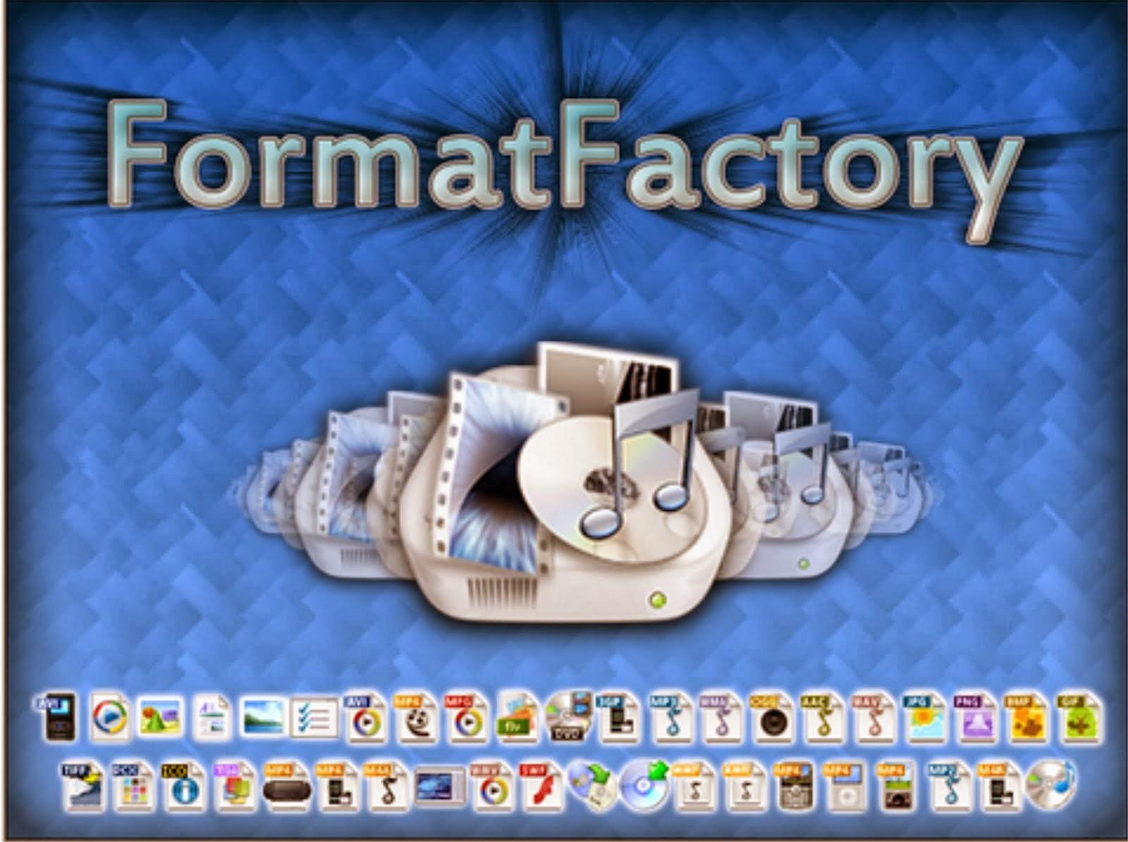 تحميل برنامج format factory عربي ويندوز 7