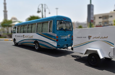 Source: Oman Air. Oman Air launches free bus service between Al Ain and Abu Dhabi and Dubai.