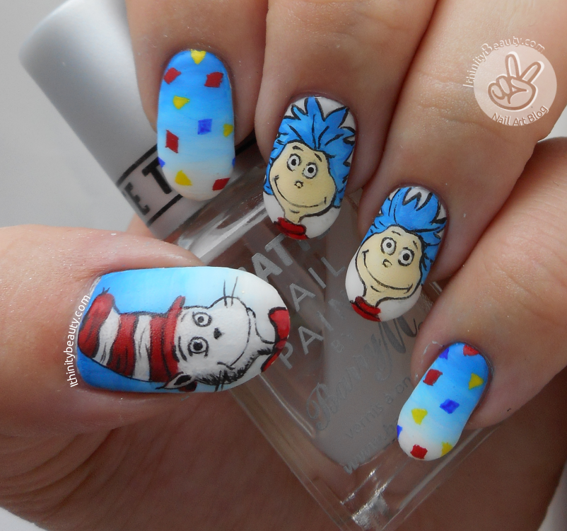 Freehand Ig Dr Seuss Collaboration With Allnailsondeck