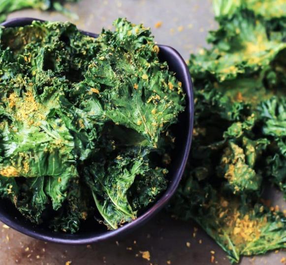 SERIOUSLY THE BEST KALE CHIPS #diet #delicious