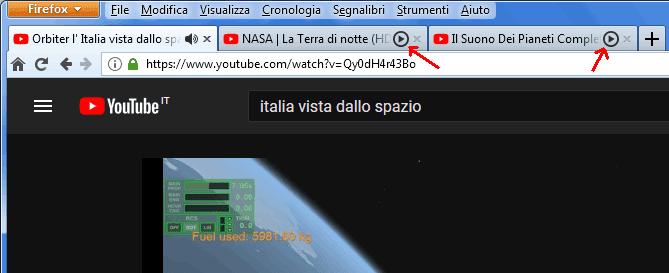 Firefox 56 schede in secondo piano con media bloccati