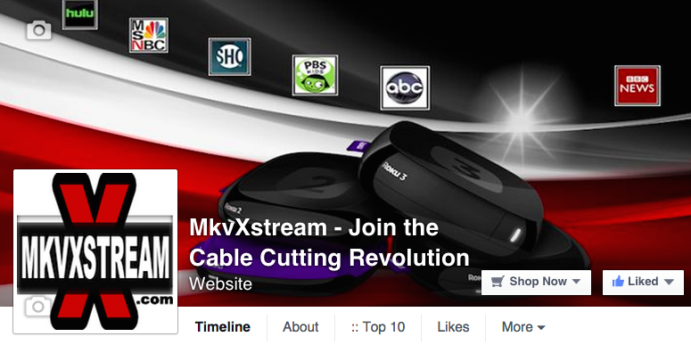 Join mkvXstream on Facebook
