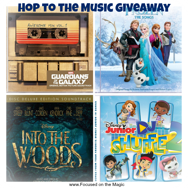Hop to the Music with Disney Music Group Giveaway