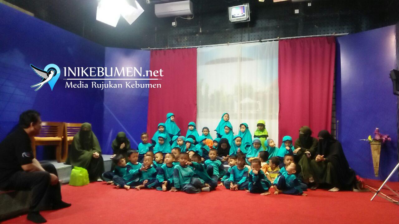 PAUD IT Darussunnah Kunjungi Ratih TV Kebumen