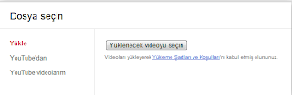 Blogger Video yükleme