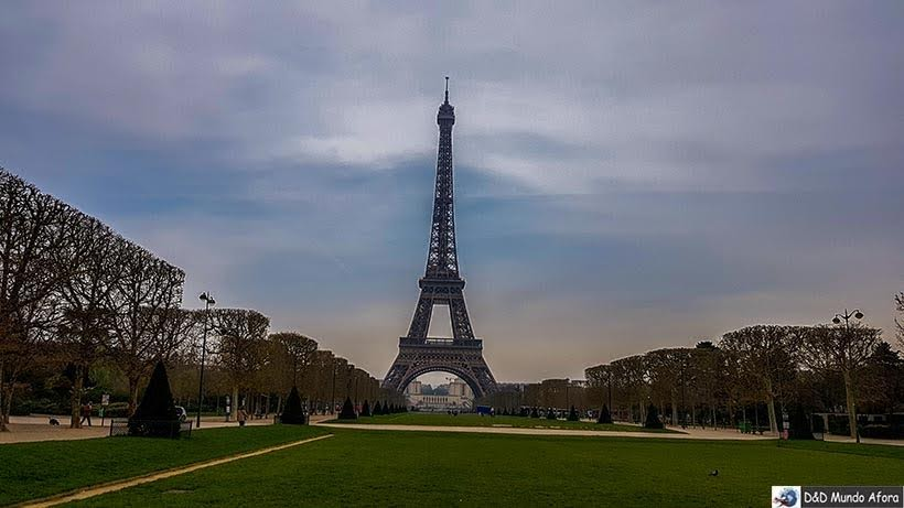 Como visitar a Torre Eiffel em Paris