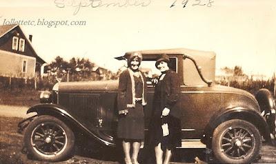 Velma and Violetta Shenandoah, VA 1928 https://jollettetc.blogspot.com