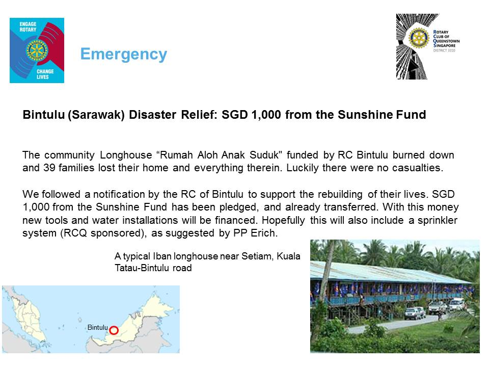 Rotary Club of Queenstown, Singapore: NEWSLETTER 6, JULY 2013