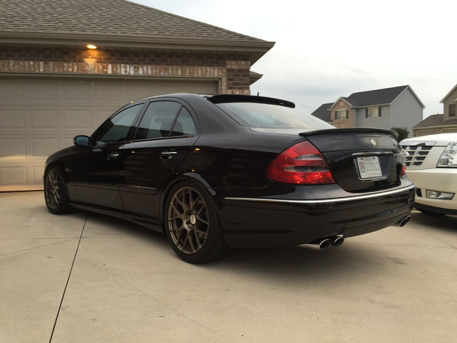 2005 mercedes benz w211 e55 amg on 19 tsw nurburgring benztuning. Black Bedroom Furniture Sets. Home Design Ideas