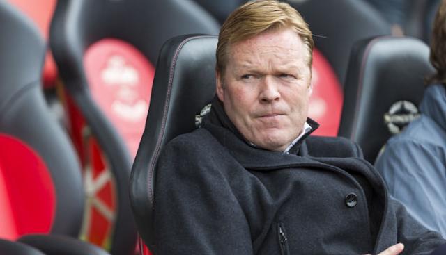 New boss Everton, Ronald Koeman