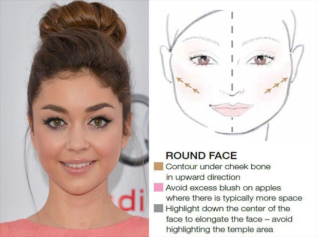 8 Tips for Round Face Makeup