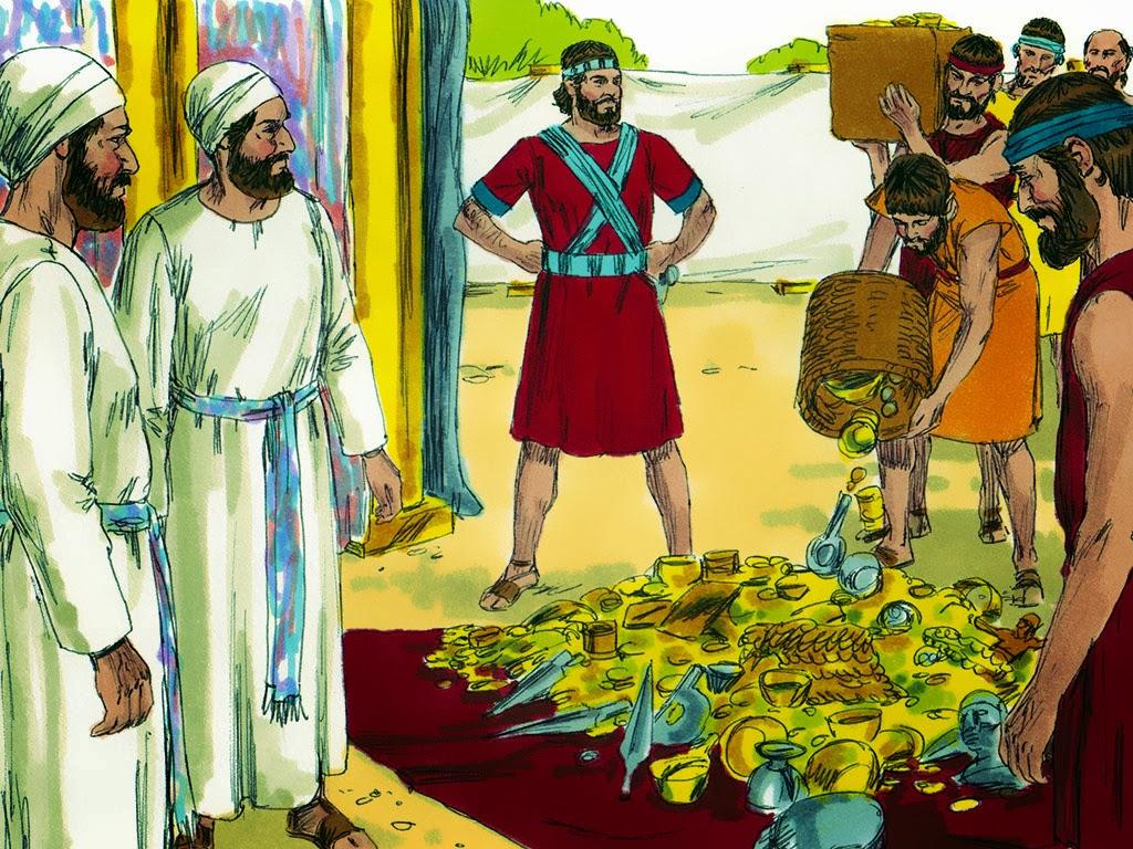 Recursos De Evangelismo Josue E O Pecado De Aca