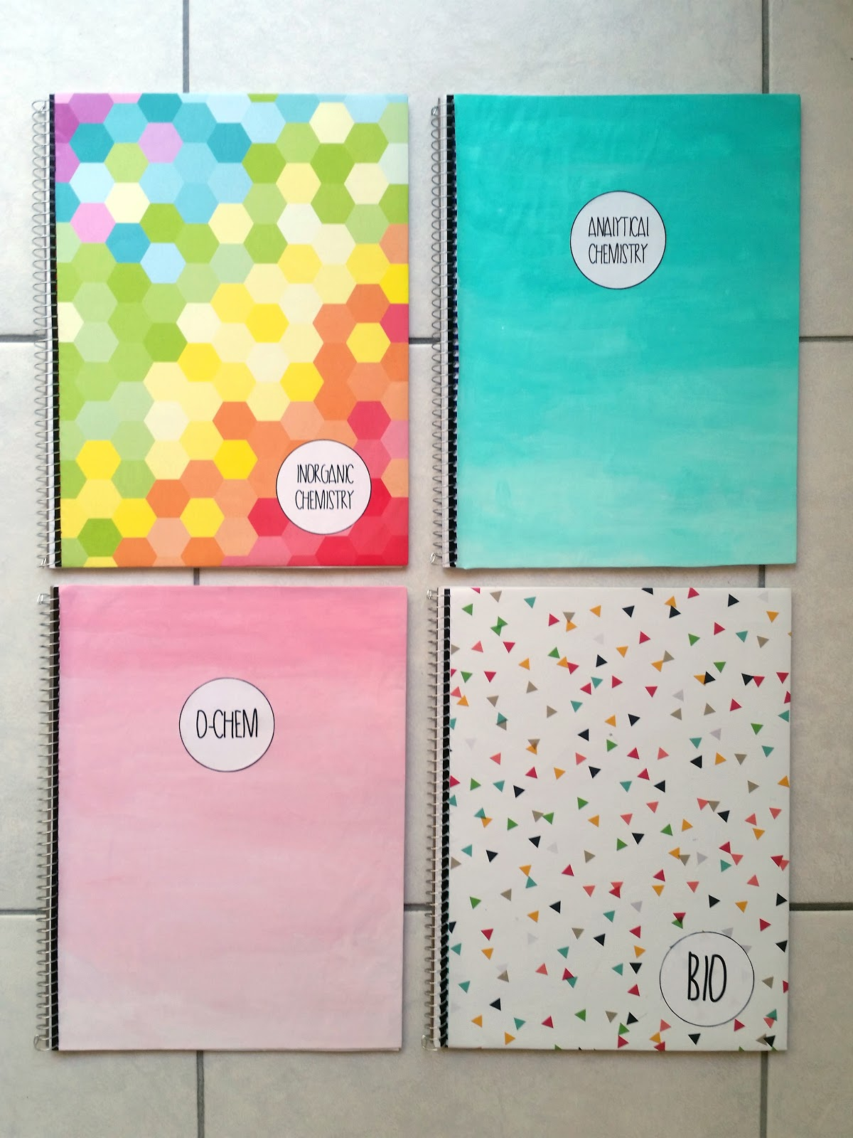 Rockin 39 strawberries diy notebooks requested for Back to school notebook decoration ideas