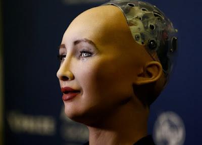 Sophia-World's first robot citizen