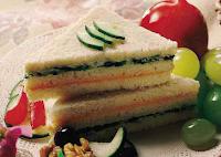 Sanduíche Bicolor (vegana)