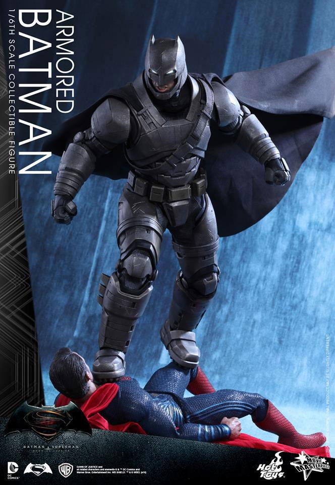 Batman V Superman Dawn Of Justice Toys From Hot Toys Mezco