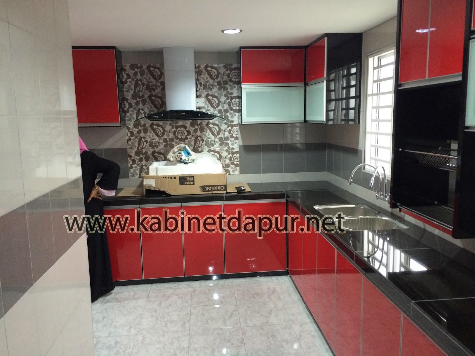 Kabinet Dapur Terkini Terbaru Desainrumahid Www 123paintcolor